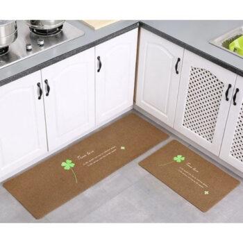 Thảm 2D nhà bếp đế cao su chống trượt
