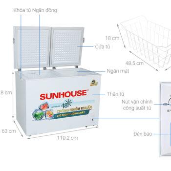 Tủ đông Sunhouse SHR-F2362W2