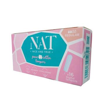 Băng vệ sinh Tampons NAT Regular