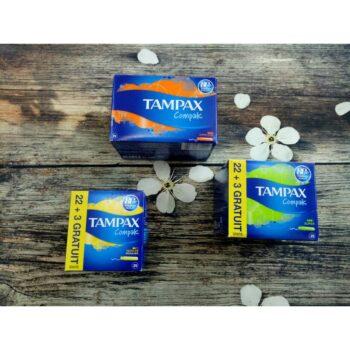 Băng vệ sinh Tampon Tampax Compak