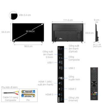 TV Vsmart 50 Inch -50KD6800