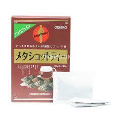 Trà Meta Shot Tea Orihiro hỗ trợ giảm mỡ bụng