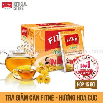 Trà Giảm cân FITNE Hương Hoa Cúc