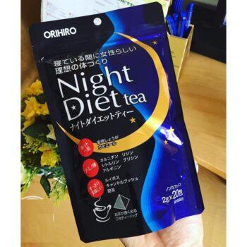 Trà hỗ trợ giảm cân ban đêm Orihiro Night Diet Tea
