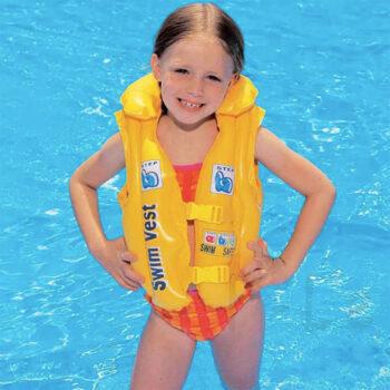 Áo phao tập bơi Yesure Intex Step 2