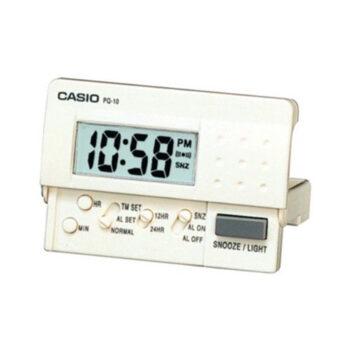 Đồng hồ báo thức du lịch – để bàn có đèn LED Casio PQ-10-7R