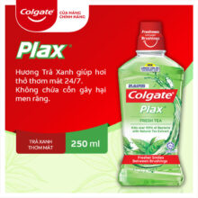 Nước súc miệng Colgate Plax – Trà Xanh