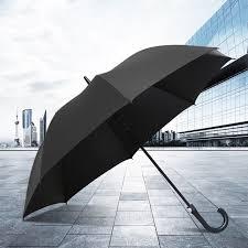 Ô dù che mưa cán cong có nút bấm tự động