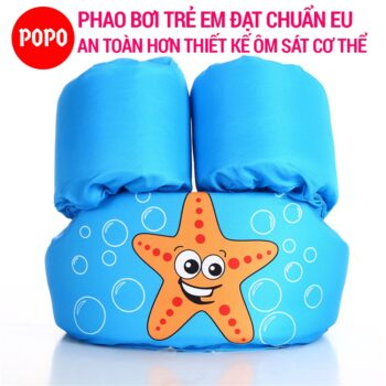 Phao tắm cho bé từ 2 đến 6 tuổi POPO