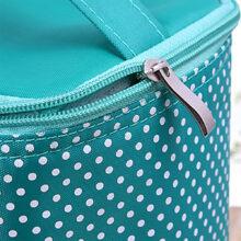 Túi giữ nhiệt chấm bi cao cấp