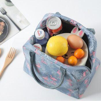 Túi giữ nhiệt đựng hộp cơm hình hạc