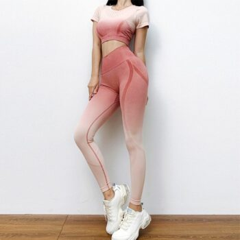 Bộ quần áo tập gym yoga thể thao nữ AMIN AM003
