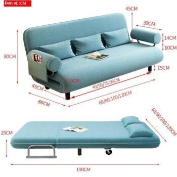 Ghế sofa giường nằm đa năng Kachi