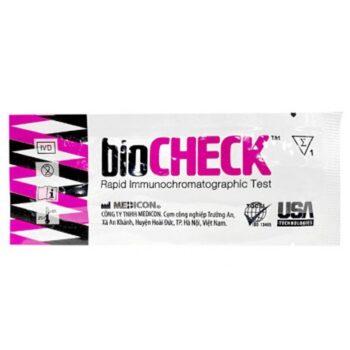 Que thử rụng trứng Biocheck – hộp 7 que
