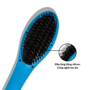 Lược điện tạo kiểu tóc PYT Thermal Styling Brush Turquoise