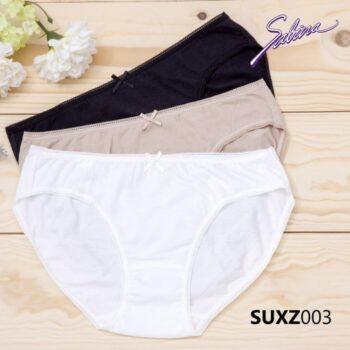 Quần lót lưng vừa cạp ngắn màu trơn Panty Zone By Sabina SUXZ0003