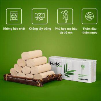 Khăn giấy tre Fudo