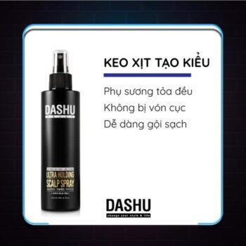 Keo xịt tạo kiểu DASHU Daily Ultra Holding Scalp Spray XT02