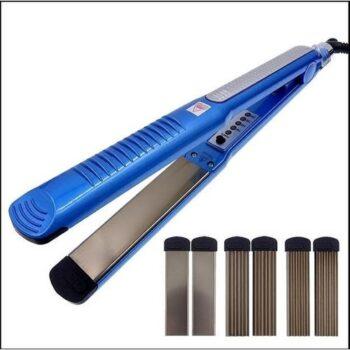 Máy uốn, duỗi, bấm xù tóc 4 in 1 có 4 mức chỉnh nhiệt PRO