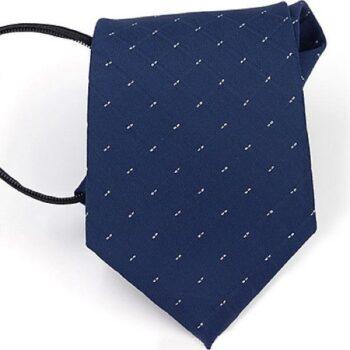 Cà vạt thắt sẵn bản 8cm QT1343