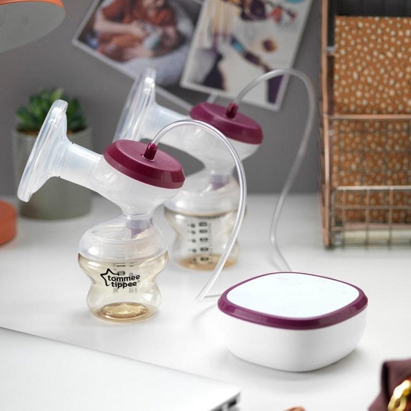 Siêu phẩm máy hút sữa điện đôi Tommee Tippee Made for Me