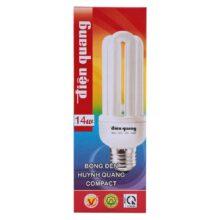 Bóng đèn Compact Điện Quang ĐQ-CFL-3U-T4-14W-DL-E27