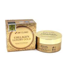 Mặt nạ đắp mắt giảm quầng thâm và nếp nhăn 3W Clinic Collagen Luxury Gold Hydrogel Eye & Spot Patch