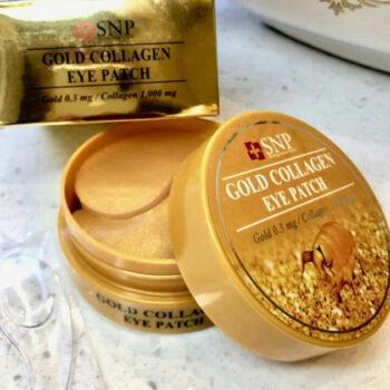Mặt nạ mắt SNP Gold Collagen Eye Patch