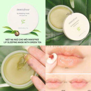 Mặt Nạ Môi Lip Sleeping Mask With Green Tea – Innisfree
