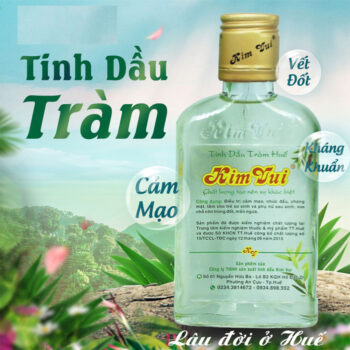 Tinh dầu tràm Huế Kim Vui