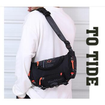 Túi đeo chéo nam đa năng Haoshuai