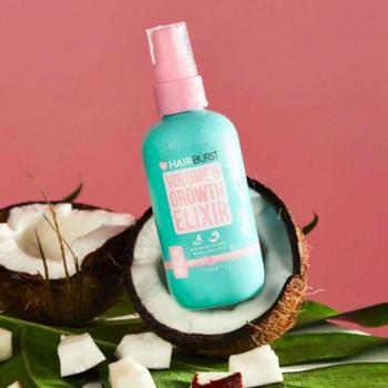 Xịt Dưỡng Tóc Hairburst Volume And Growth Elixir Avocado & Coconut