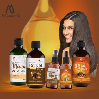 Xịt dưỡng tóc Macadamia