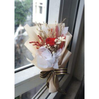 Bông hoa nhỏ – Hộp hoa khô tự nhiên