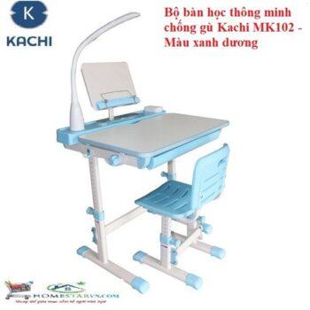 Bộ bàn học thông minh chống gù lưng Kachi MK-102