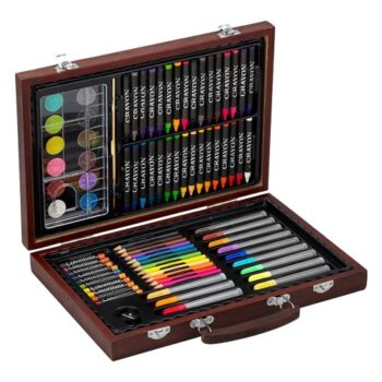Hộp vẽ đa năng hiệu Hộp Gỗ Colormate 93W
