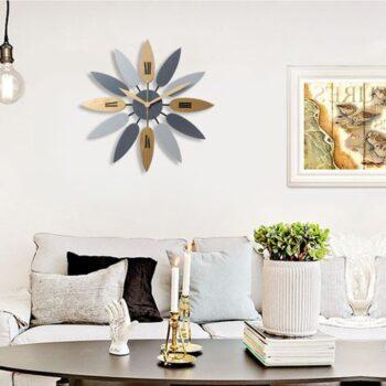 Đồng hồ treo tường hiện đại trang trí phòng khách DHT002