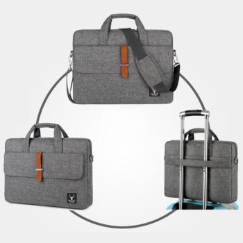 Túi xách nam nữ công sở, đựng Laptop 17 Inch LAZA TX467