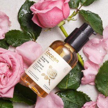 Dầu tẩy trang hoa hồng Cocoon