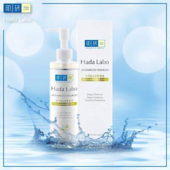 Dầu tẩy trang Hada Labo Advanced Nourish Hyaluron Cleansing Oil