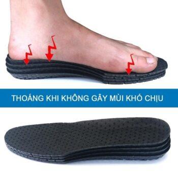 Miếng lót giày nam thoáng khí PETTINO – TX01
