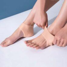 2 miếng lót giày Silicon bảo vệ gót chân