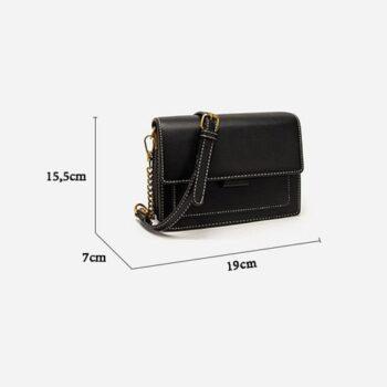 Túi đeo chéo nữ phong cách thời trang Vintage