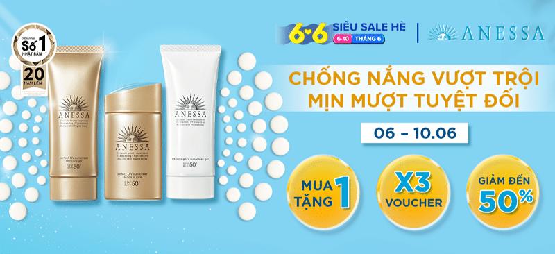 Top 6 thương hiệu mỹ phẩm Siêu Sale Hè Lazada 6.6 - 3