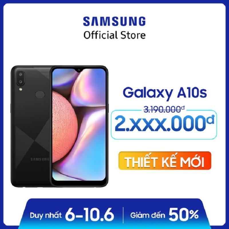 Điện thoại Samsung Galaxy A10s 32GB (RAM2GB)