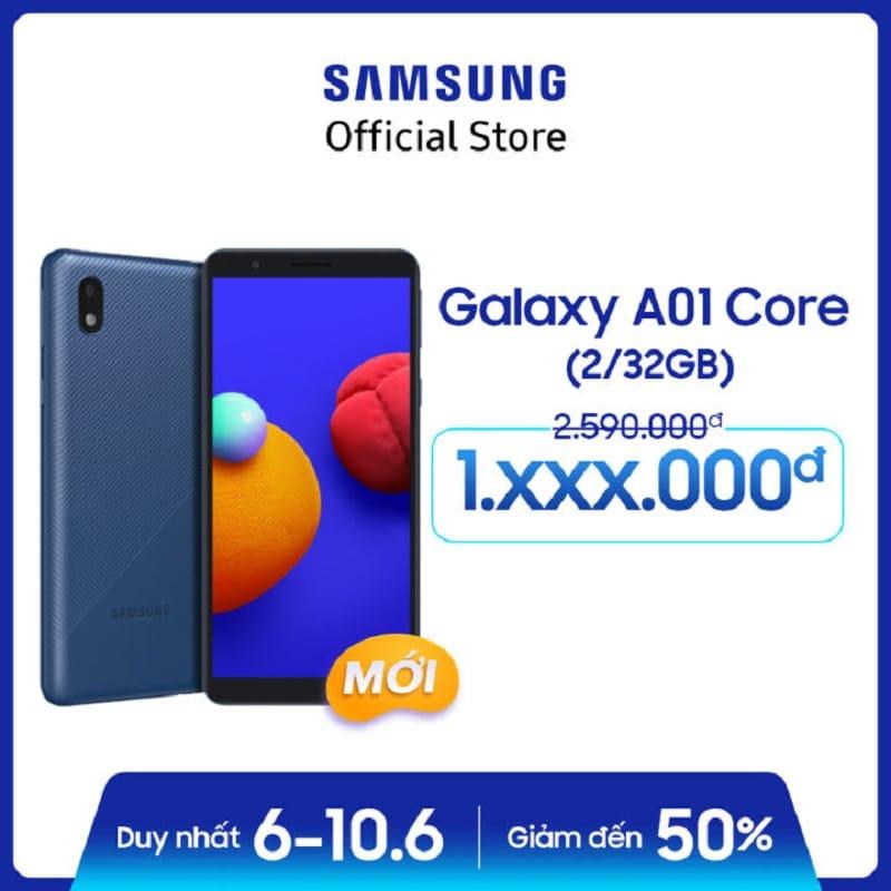 Điện thoại Samsung Galaxy A01 Core (2GB/32GB)
