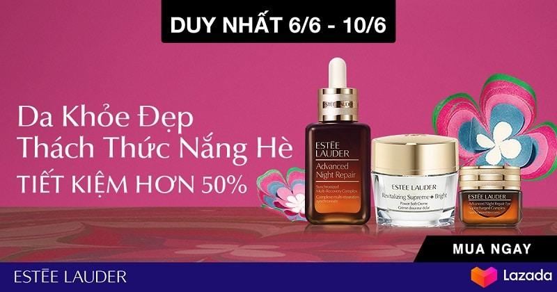 Top 6 thương hiệu mỹ phẩm Siêu Sale Hè Lazada 6.6 - 2