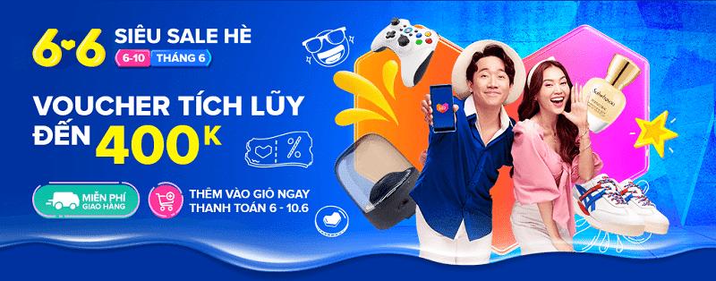 Top 6 thương hiệu mỹ phẩm Siêu Sale Hè Lazada 6.6 - 7