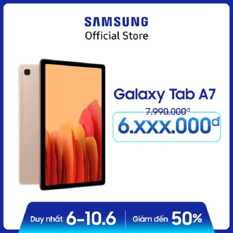 Máy tính bảng Samsung Galaxy Tab A7