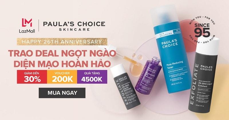 Top 6 thương hiệu mỹ phẩm Siêu Sale Hè Lazada 6.6 - 5